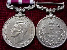 Replica Copy GVI  Meritorious Service Medal coinage head age toned