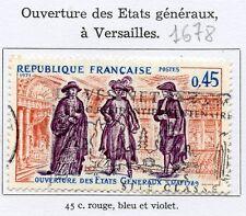 STAMP / TIMBRE FRANCE OBLITERE N° 1678 ETATS GENERAUX VERSAILLES