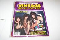 FEB 1989 VINTAGE METAL POSTERS music magazine