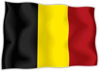 10 x  Autocollant Sticker drapeau belge belgique  flag vinyle pour voiture moto