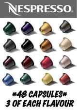 48 Nespresso Capsules Starter Pack *3 of Each Flavour*