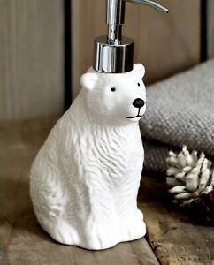 Bnib Next White Polar Bear Soap Gel Dispenser New..