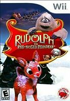 Rudolph the Red-Nosed Reindeer (Nintendo Wii, 2010) New & Sealed