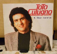 TOTO CUTUGNO - CHE SERA - CHE DONNA - vinile 45 giri NUOVO 1992