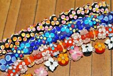 New Lot 4 strands Fine, Murano Lampwork Glass Beads - Colorful 14mm  L-A424