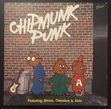 The Chipmunks  – Chipmunk Punk  LP XLP-6008 / 1980