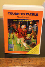 Tough To Tackle Matt Christopher Book On Cassette Tape Listening Library Rare