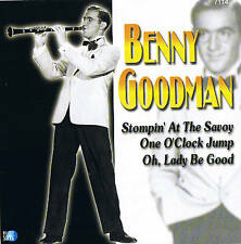 "Benny Goodman ""STOMPIN 'at the Savoy"" Planet 2001 CD NUOVO & OVP 20 tracks compil."