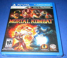Mortal Kombat Sony PlayStation Vita *Factory Sealed! *Free Shipping!