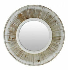 French Country Wall-Mounted Round Decorative Mirrors