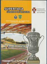 Orig.PRG   Portugal Supercup 2007  FINALE  SPORTING LISSABON - FC PORTO  !!  TOP