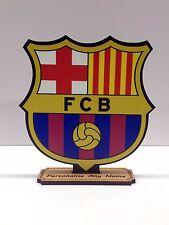 Personalizado Fútbol Club Barcelona De Madera Artesanal Mdf de corte láser 6mm de espesor