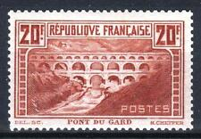 "FRANCE STAMP TIMBRE N° 262 "" PONT GARD 20F CHAUDRON TYPE IIB "" NEUF xx TTB  M315"