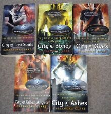 The Mortal Instruments Collection Cassandra Clare Books 1 - 5 Paperbacks
