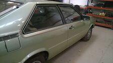 AUDI Coupe B2 1981-1985 E5 S5 GT Cuerpo a Rayas Rayas COACHLINE Kit No Quattro