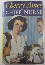 CHERRY AMES #4  CHIEF NURSE HELEN WELLS 1960 G&D HARDCOVER DJ