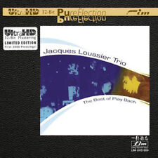 The Jacques Loussier Trio The Best Of Play Bach Limited Edition Ultra HD CD