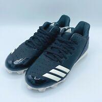 Adidas Icon 4 MD K Baseball Cleats Black / White - Big Kids Size 6