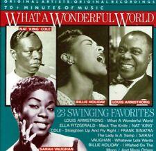 What a Wonderful World 23 Swinging Favorites  BRAND  NEW SEALED CD