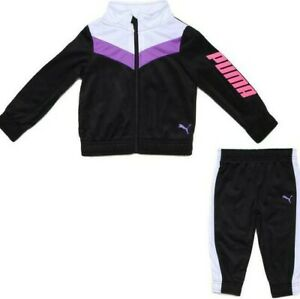 Puma Little Girls' Tricot Set (Ages 2 - 4 Years)