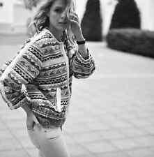 IRO ELOMI blanc veste en tweed blazer sz 2 uk 10