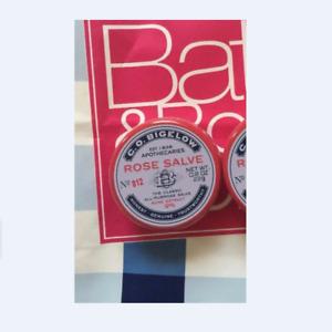 NWT Bath & Body Works (Sealed) C.O. Bigelow Rose Salve Lip Balm - 0.8 oz