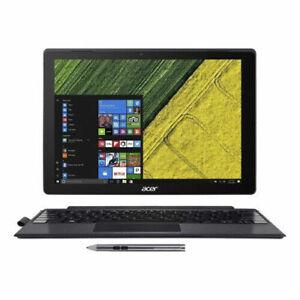 "Acer Switch 12 tablet Laptop i5 6200u 2.30Ghz 8Gb 256Gb 12"" QHD 2K Touchscreen"
