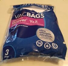 Filtration Hoover Type Y and Type Z Vacuum Bags Micro Allergen 2 Bags