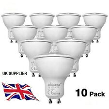 10 pcs 5/7w GU10 LED SPOT BULBS WARM - NATURAL - COOL WHITE LIGHT BULBS A+Rating