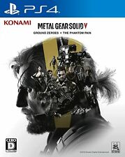 PS4 METAL GEAR SOLID V GROUND ZEROES + THE PHANTOM PAIN Japan New with Tracking