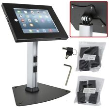 iPad Air 4 3 2 Stand Holder Enclosure Desk Table Top Mount w/ Anti-Theft Lock