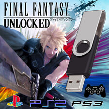 FINAL FANTASY PS3 PS2 PS1 PSP | MEMORY CARD SAVES | 6 7 8 9 10 X-2 12 13 USB