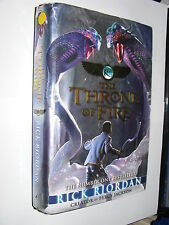 Kane Chronicles #2 Throne Of Fire by Rick Riordan hardback 1st edition 2011