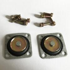 Autolite 1100 1101 Carburetor accelerator pump diaphram  2 pcs Contains 8 screws