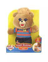 Teddy Ruxpin Hug 'N Sing Plush with Sound Best Friend Stuffed Animal Toy