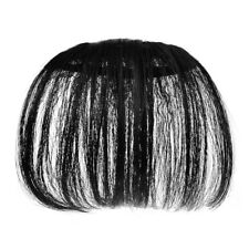 Womens Air Bangs Clip On Hair Extensions In Front Hair Bangs Fake Piece Thin New