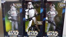 """Star Wars AT-AT Driver Sandtrooper & Imperial Probe 12"""" Figures NEW Vintage"""