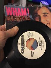 Wham!-Wake Me Up Before You Go Go / Same (Instr.)  NM 45 RPM Single PS