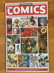 DC WEDNESDAY COMICS Oversized Hardcover HC First Printing 2010