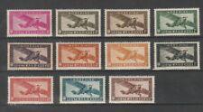 INDOCHINE colonie Française lot de 11 valeurs poste aérienne dont 14/46/47 **