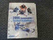 2006 Yamaha Venture Vector Viper Snowmobile Shop Service Technical Update Manual