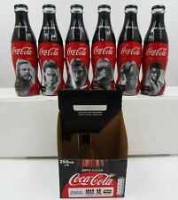*Full 2017 Star Wars Last Jedi GLASS Coca Cola 6 Bottle set Disney Netherlands