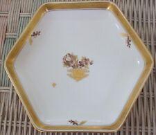 "Royal Copenhagen ""Golden Basket"" 6 Sided Tray/Dish - 7-1/4"" - 595/9784"