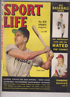 Sport Life Mag Ralph Kiner Diamond Daisies & Pee Wee October 1949 122719nonr