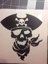 Pirate head Sticker Decal