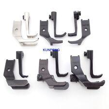 6SET Walking Presser Feet fit for JUKI LU-562 563 1114 1508 1510 1560 LS-341