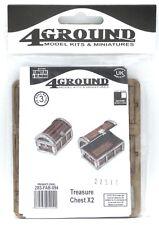 4Ground 28S-FAB-094 Treasure Chest [x2] (Furniture & Belongings) Terrain Scenery
