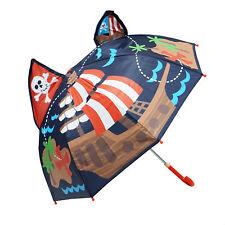 Kiddi Choice 3D Pop-Up Navy Pirate Cute Umbrella