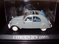 voiture 1/43 altaya IXO CITROËN 2 CV  1957 grise