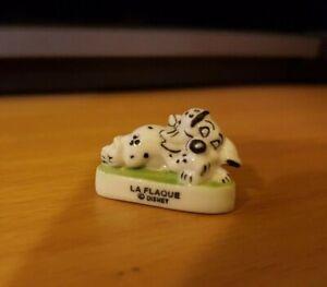 Fève - LA FLAQUE - Série Les 101 dalmatiens - Disney  (3092)